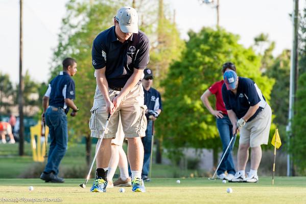 Polk County Special Olympics Golf Clinic