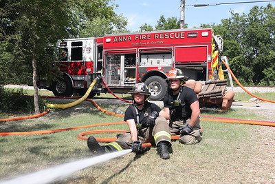 Anna TX. Riggins St. Structure fire 6/14/21