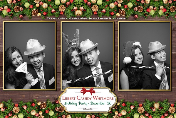 Liebert Cassidy Whitmore Holiday Party 2016