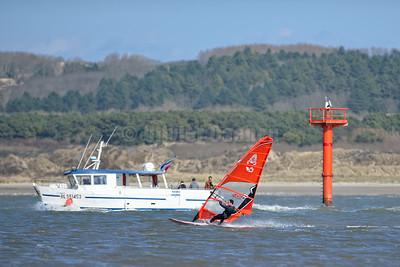 Wind-Kite  en Baie de Canche