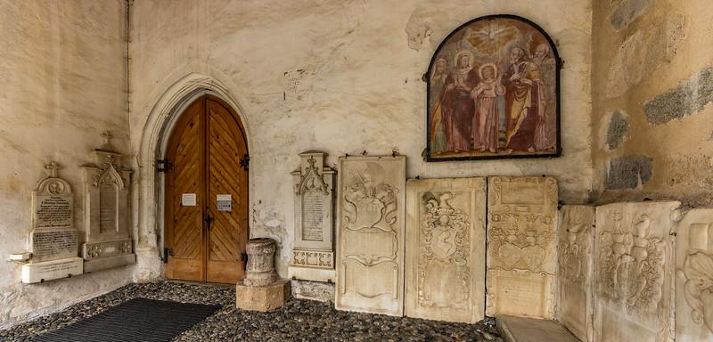 Benediktinerinnenkloster St. Johann in Müstair: Eingang zur Klosterkirche