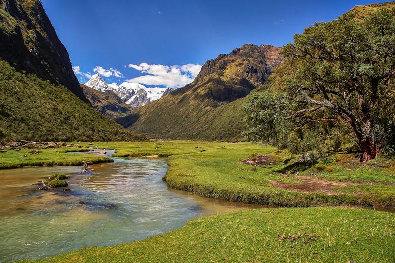 South America Adventure Santa Cruz Trek Peru