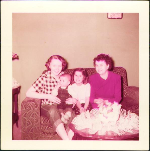 Mom, Jeff, Debby Grant, Grandma Grant