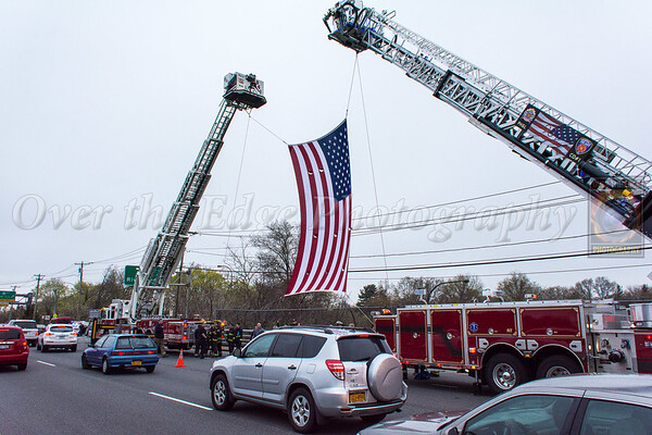 Firefighter William Tolley Procession (N. Broadway & LIE) 04/21/2017