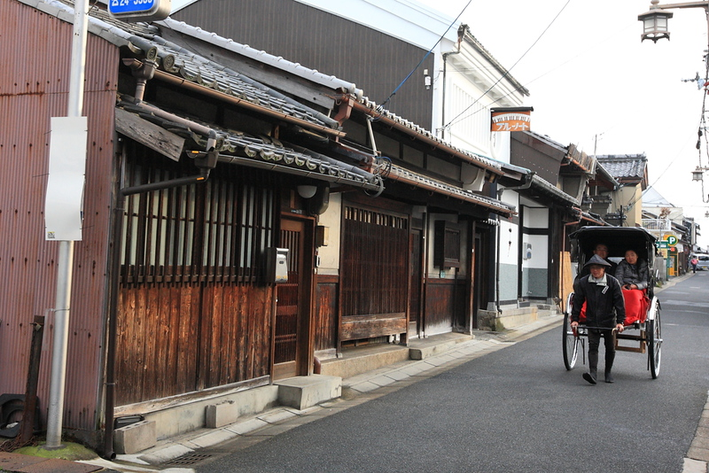 Naramachi alley in Yamatokoriyamasi in Nara Prefecture. Editorial credit: KoreaKHW / Shutterstock.com