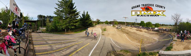 Panoramic track photos