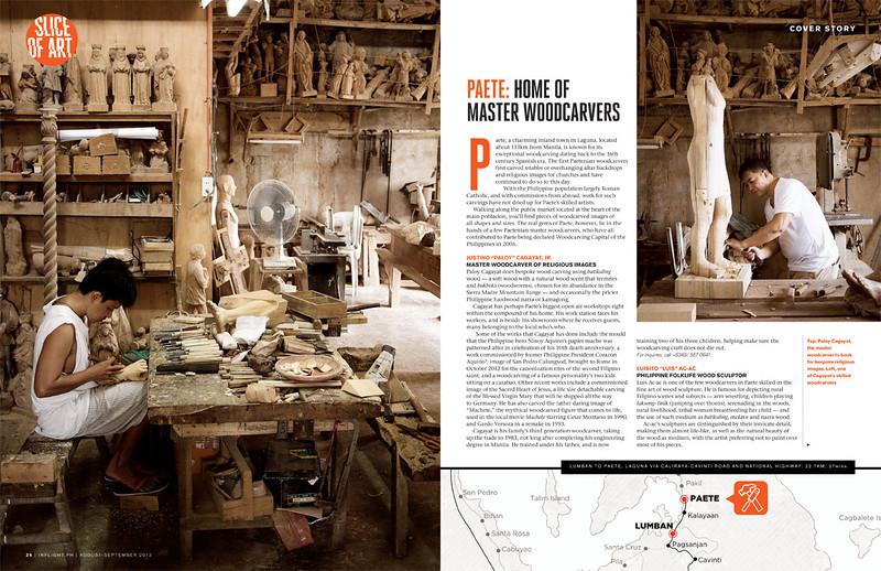 Slice of Art Inflight Magazine August September 2013 Issue
