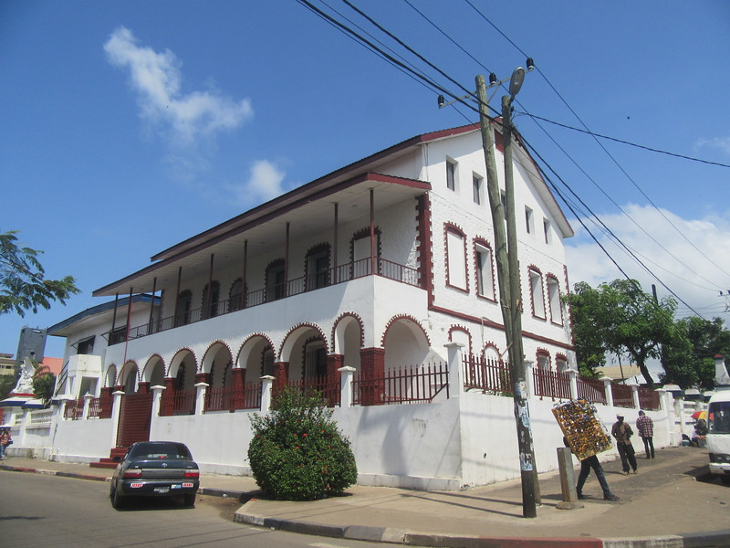 021_Monrovia. The National Museum. 18th Century.JPG