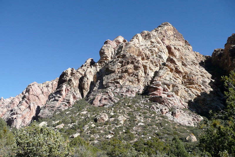 La Madre Spring Trail. Red Rock Canyon