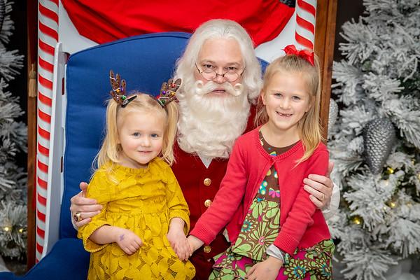 2018 1-2pm Santa at the Grove Arcade