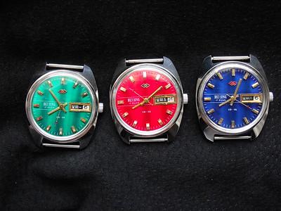 Beijing 北京 colour dials with double calendar