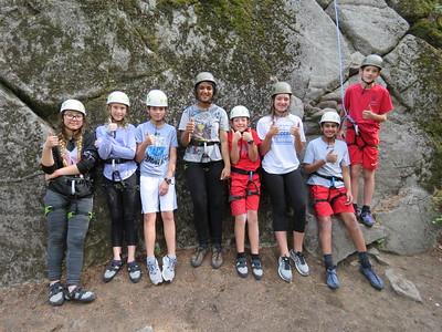 MS 7th Camp Spalding Climbing 9-19-18
