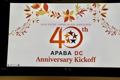 12-10-2020 APABA-DC 40th Anniversary Kickoff @ Zoom