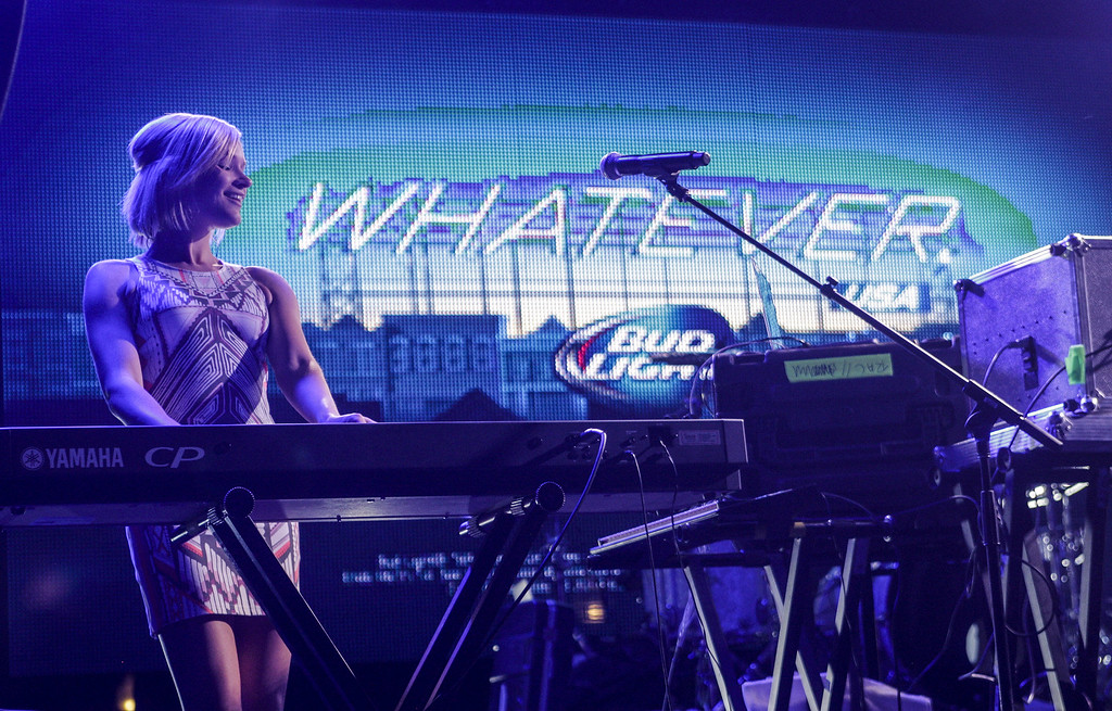 . RAC performs for the crowd at Bud Light\'s Whatever, USA  on September 6, 2014 in Crested Butte, Colorado. (Photo by Nick Tininenko/Getty Images for Bud Light)