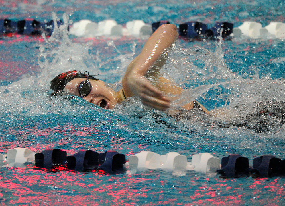 . Mountain Range High School sophomore Shelly Drozda won the Women\'s 200 Yard Individual Medley race in a time of 2:05.86. The Colorado Coaches Invitational Swimming and Diving Meet wrapped up Saturday night, December 15, 2012.  Karl Gehring/The Denver Post