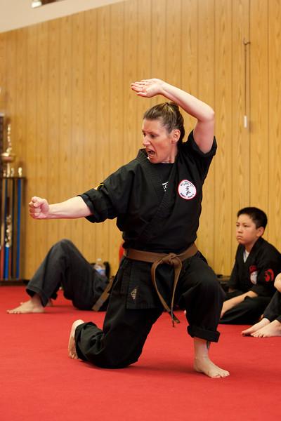 2011-06-25 Brown Belt Test - Gina