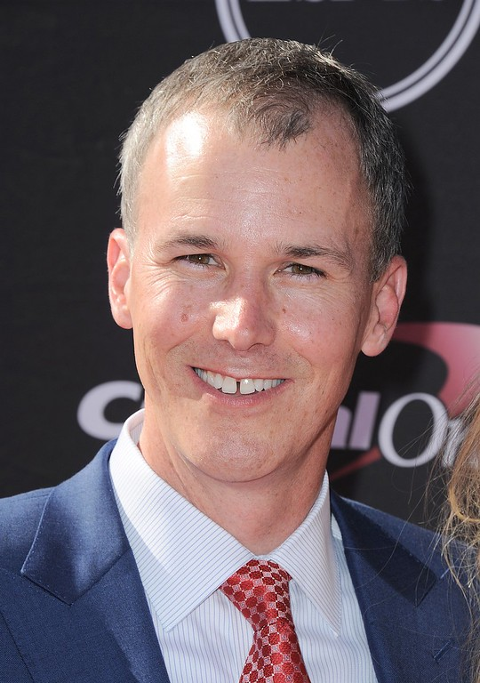 . Southern California men\'s basketball coach Andy Enfield arrives at the ESPY Awards on Wednesday, July 17, 2013, at Nokia Theater in Los Angeles. (Photo by Jordan Strauss/Invision/AP)