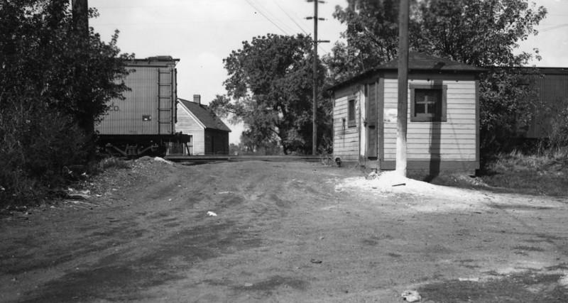 D&RGW Ogden yard. October 1940. (R.N. Slaughter Photo)