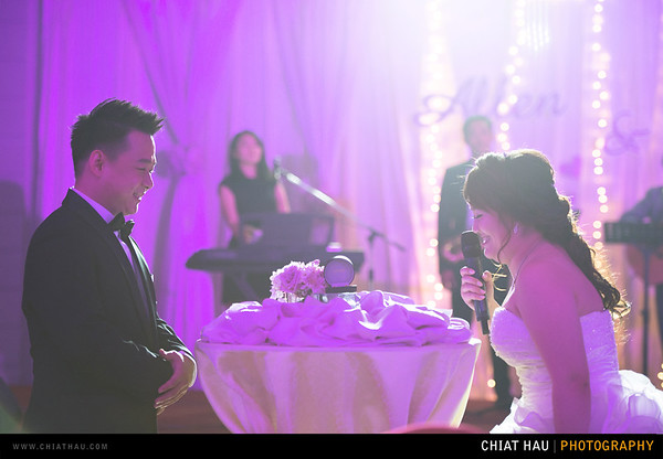 Vincy + Allen - Penang E&O Reception Session