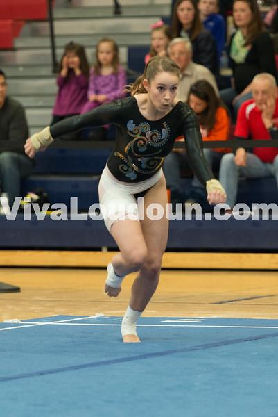 Gymnastics: VHSL 2015 State Gymnastics Individual Championships 3.8.15 (by Chas Sumser)