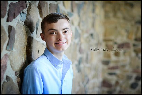 Evan Belcourt Senior Portraits