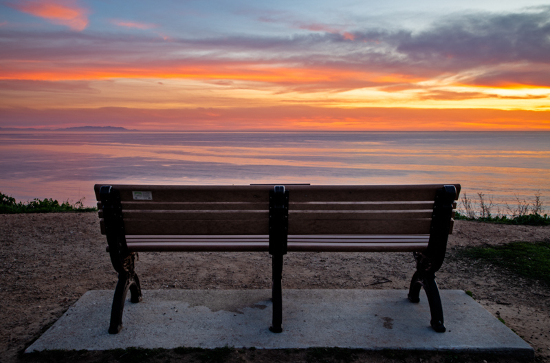 January 30 - Watching the sunset over the Pacific Ocean with Catalina in the distance.jpg