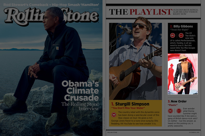 Rolling Stone, October 2015