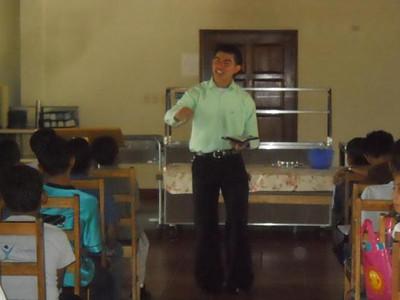 Jovenes en Camino - Visits from Baxter Students