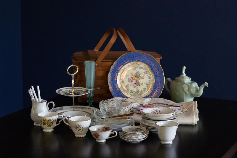 Tea Party Dishes