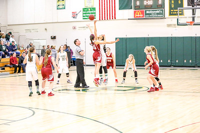 2016 Oxford Hills vs. Bangor Girls Basketball