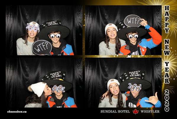 Sundial Hotel Whistler NYE 2020
