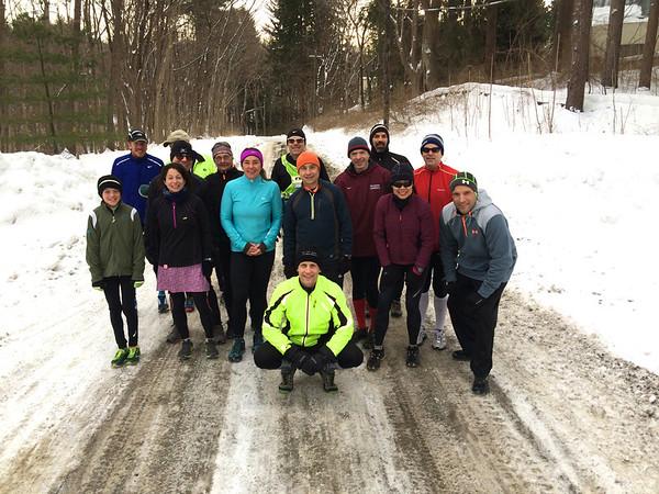 Feb 16th Sunday run - Reservoir Road