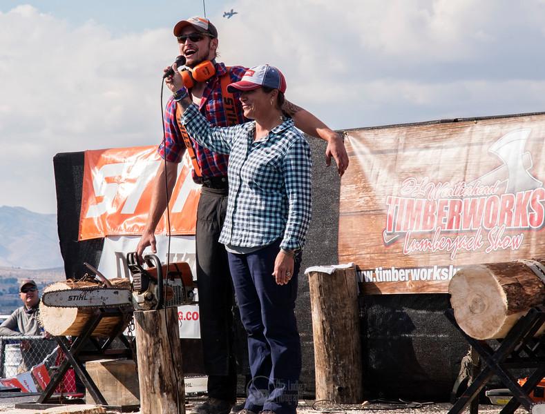 Stihl Timbersports Demo