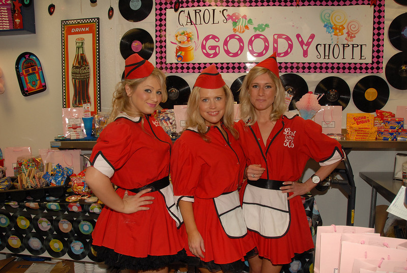50's Diner Themed Bday - ATeam Party Hostesses