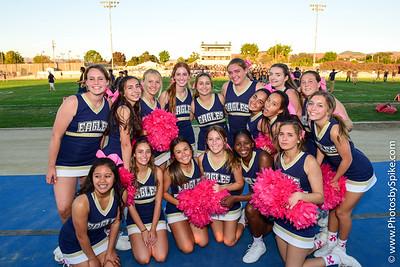 JV Cheerleaders 10-19-18