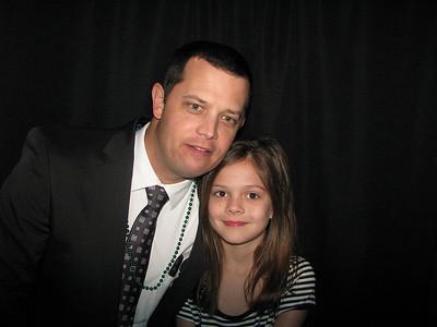 Powdersville Elem Father Daughter Dance Booth 1 2/23/18