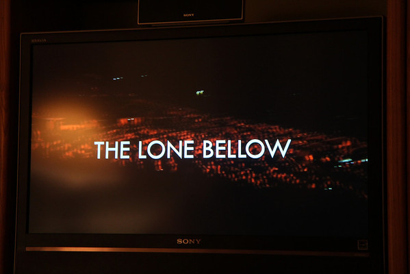 The Lone Bellow on Jay Leno