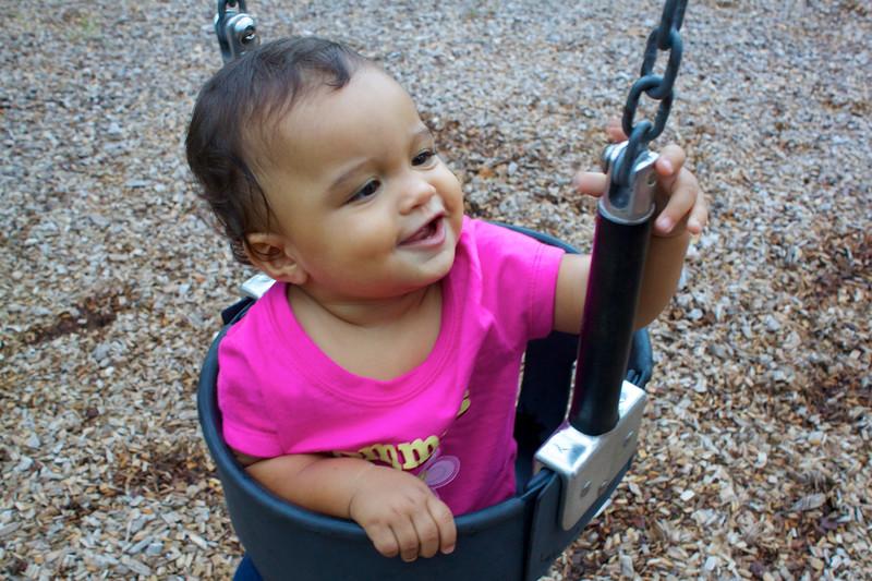 At Poppa & Grammy's park