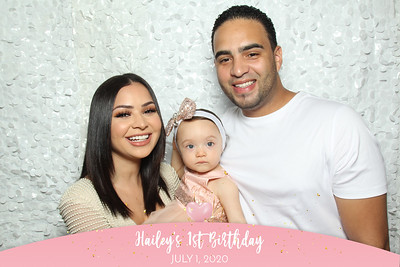Hailey's 1st Birthday - 7/4/20