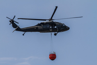 Military Blackhawk Bambi Bucket Training, Camp Smith