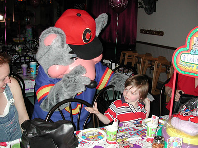 Dalton's 4th Birthday at Chuck E Cheese in Burbank - March 18, 2001