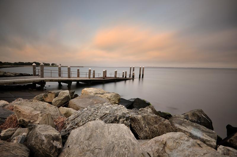 Boat Launch pier, Colt State Park