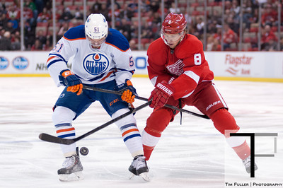 NHL: Edmonton Oilers at Detroit Red Wings 3/14/14