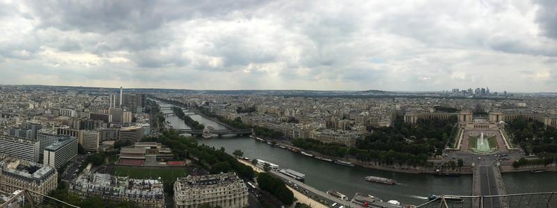 View from Eiffeltower | Paris