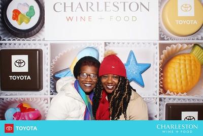 charleston wine + food chocolate wall - day 3