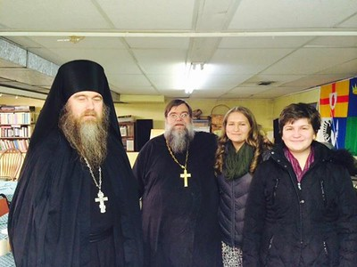 St. Vladimir's Parishioners Visit Lake Odessa Parish