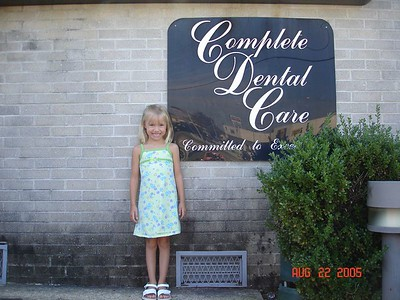 Katie Ray's 1st trip to the dentist