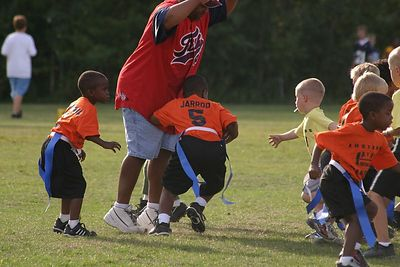 AYF Fairbanks Flag Football Aug 13, 2004