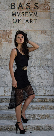 Miami Beach- Fashion Model shoot