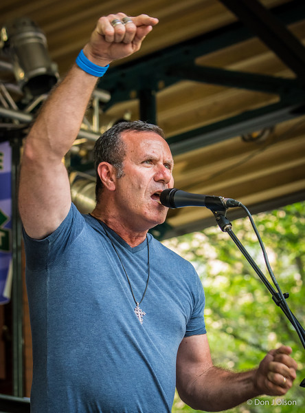 Mick Sterling- Master of Ceremonies-Lowertown Blues Festival 2015-Mears Park-St. Paul MN